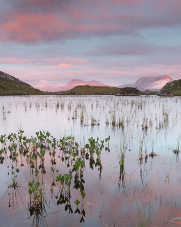 Loch Nan Tri-eileanan, Torridon, Scotland