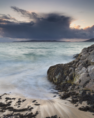 Storm clouds over Taransay