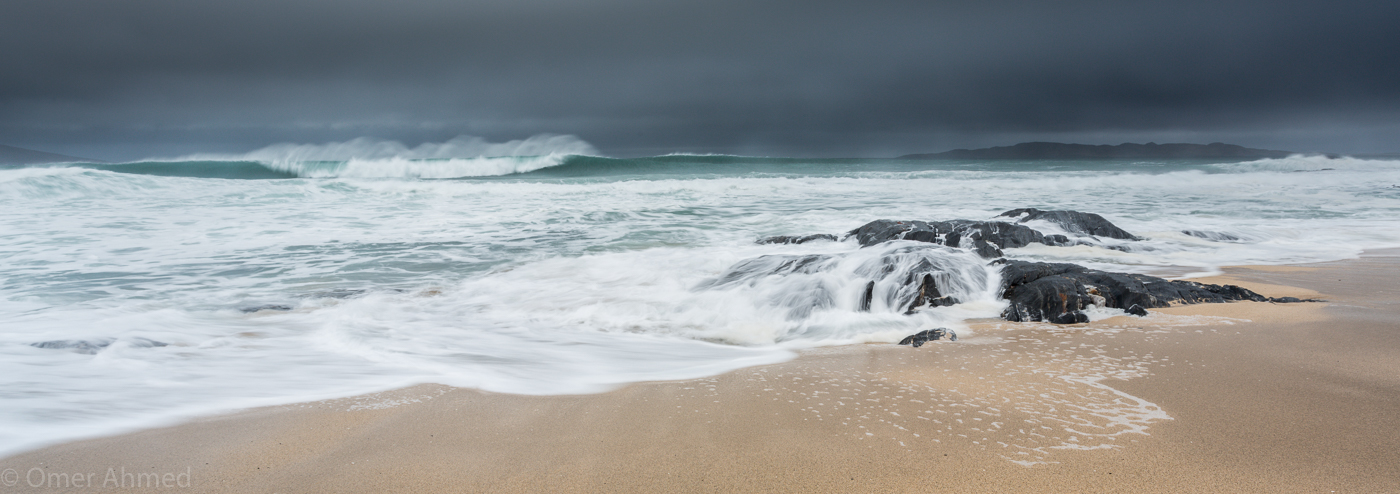 Stormy Beach, Isle of Harris